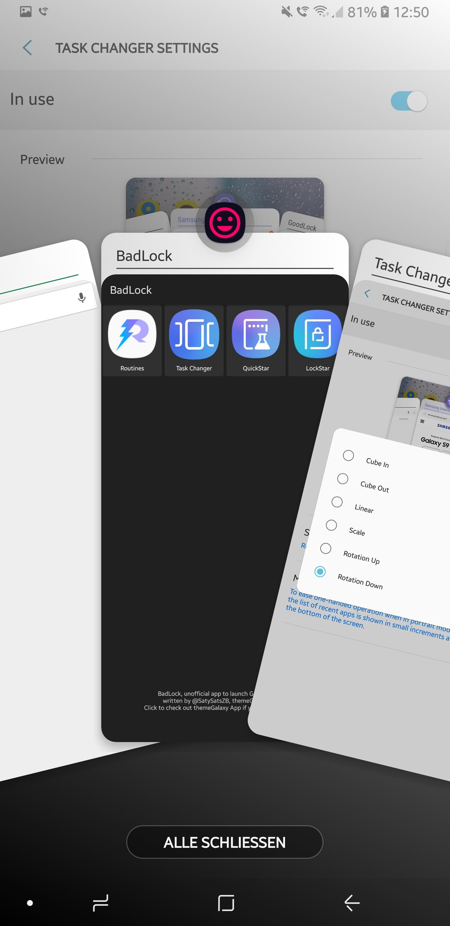 Update) Good Lock 2018: Neue Version von Samsungs anderem