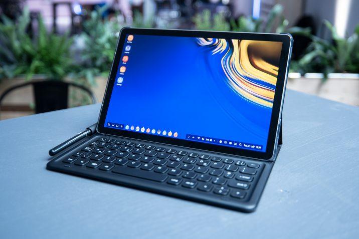 brand new 4fb2f 1662e Galaxy Tab S4 vorbestellen und kostenloses Book Cover Keyboard ...