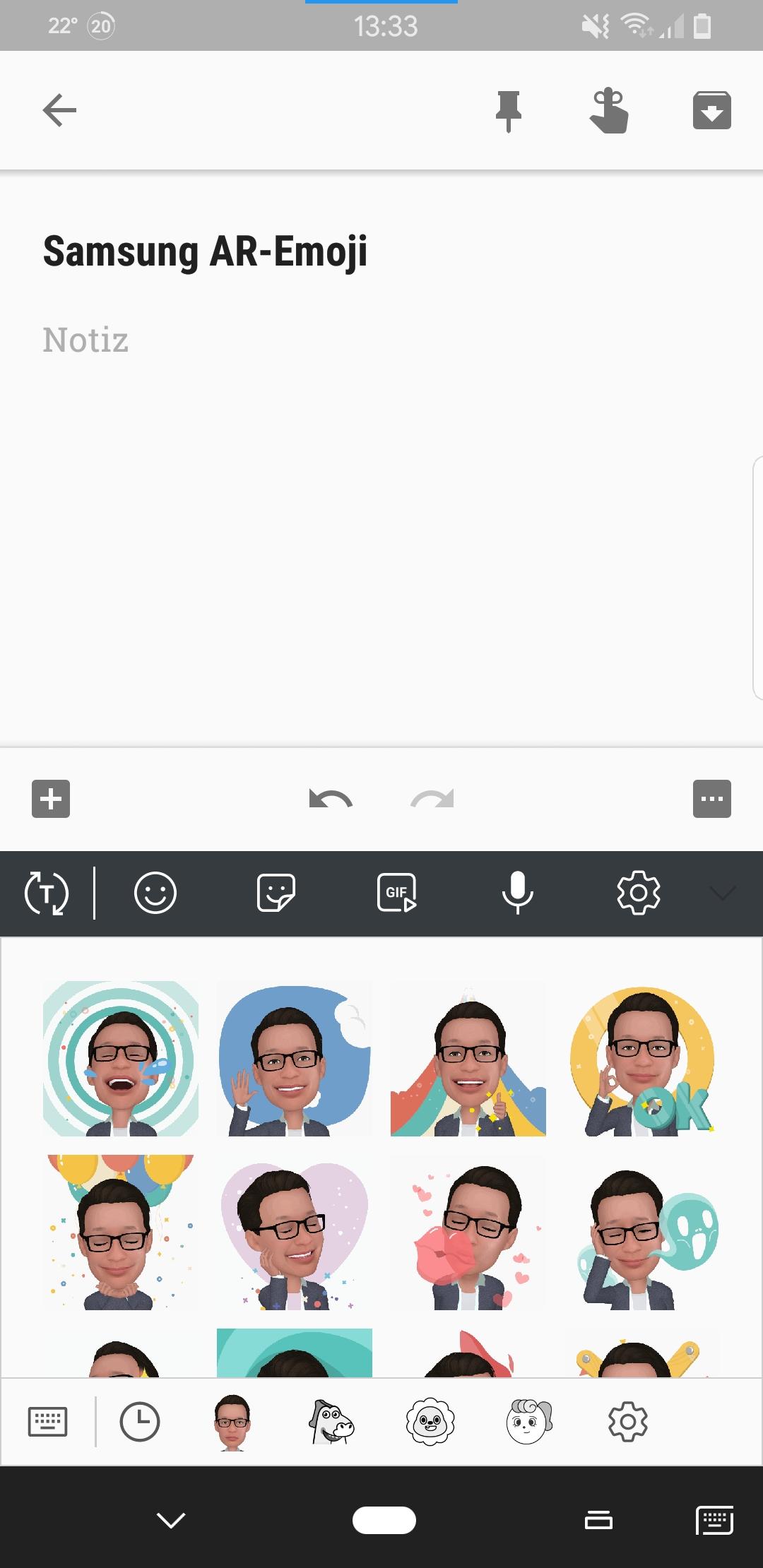 Samsung Galaxy S8 und S8+: Neues Update mit AR-Emoji und