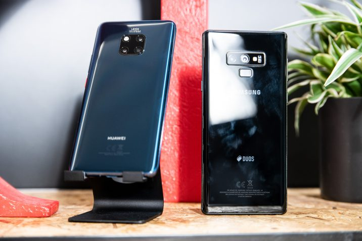 Huawei Mate 20 Pro Galaxy Note9