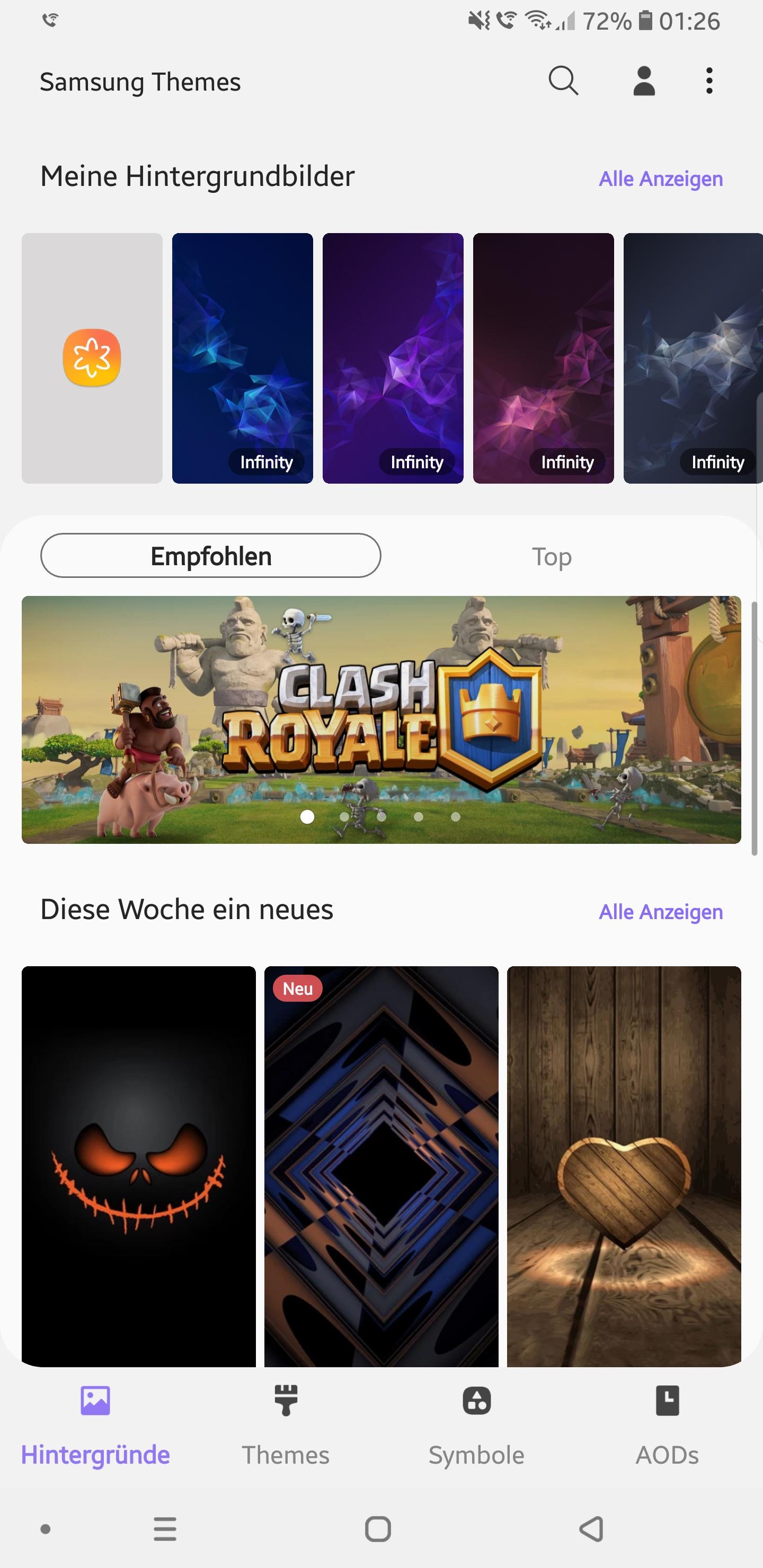 Update: Theme Store] Android 9 0 Pie Apps auf dem Galaxy S9+