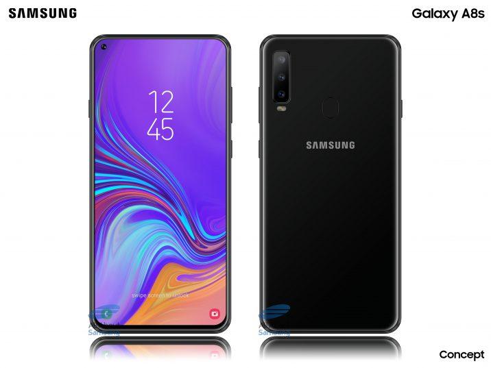 Samsung Galaxy A8s Mögliche Render Zur Mittelklasse Mit Infinity O