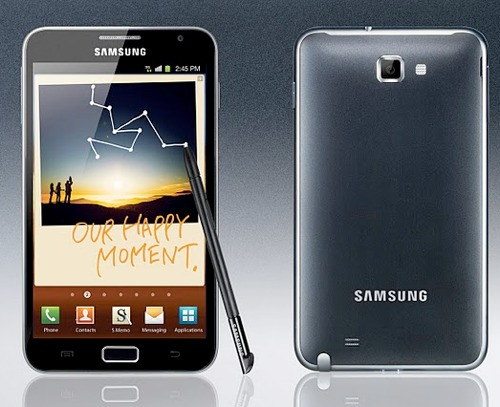 galaxy note 1 [Exklusiv] Das Samsung Galaxy Note für 469€   nur am 5. November, nur in Hamburg